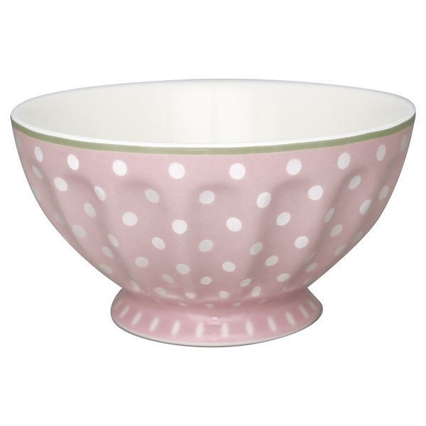 GreenGate Schüssel – French Bowl xlarge Spot pale pink