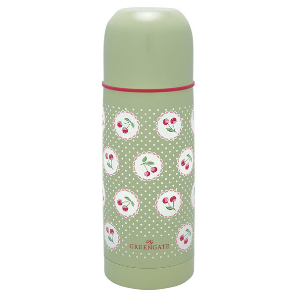 GreenGate Thermosflasche – Bottle berry pale green 300ml