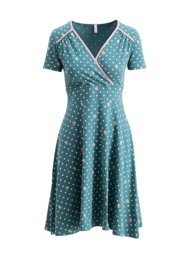 Blutsgeschwister Polka lady saloon dress
